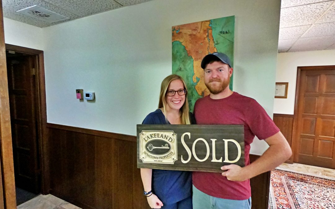 Closing Day for Ryan Johnson and Lauren Renaud on Their New Home!