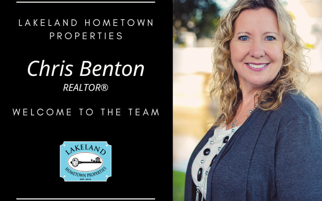LHP Welcomes REALTOR® Chris Benton!